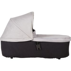 Mountain Buggy Carrycot Plus Duet - Silver