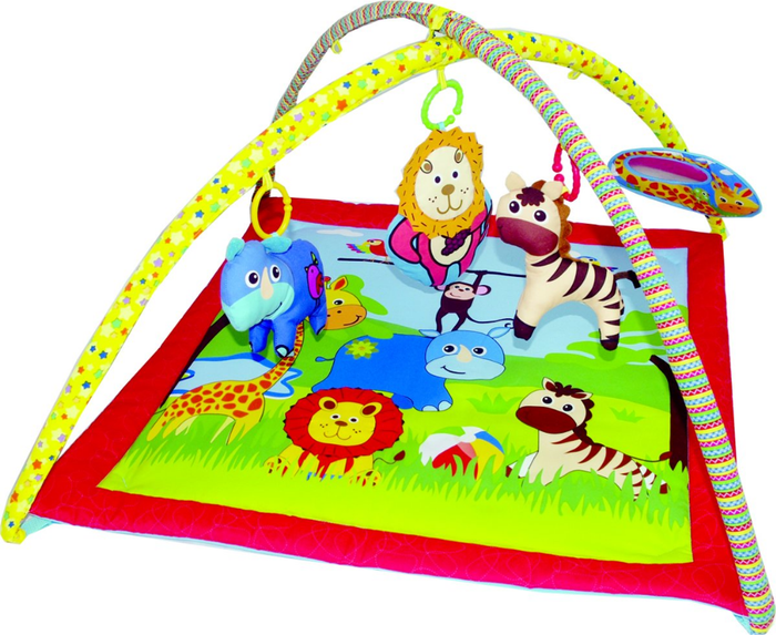 Biba Toys Speelkleed - Happy Zoo
