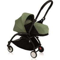 Yoyo+ Black Frame met Newborn Pack - Peppermint