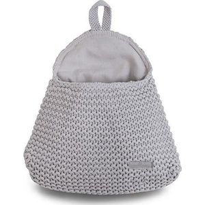 Wandzakje Heavy Knit Light Grey - Jollein