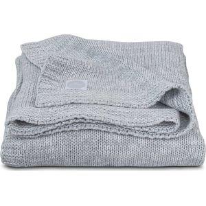 Jollein Deken 75x100cm Melange Knit - Soft Grey