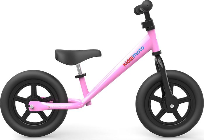 Loopfiets Super Junior Roze - Kiddimoto