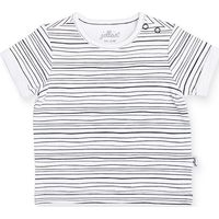 Jollein T-Shirt 62/68 - Black Stripes