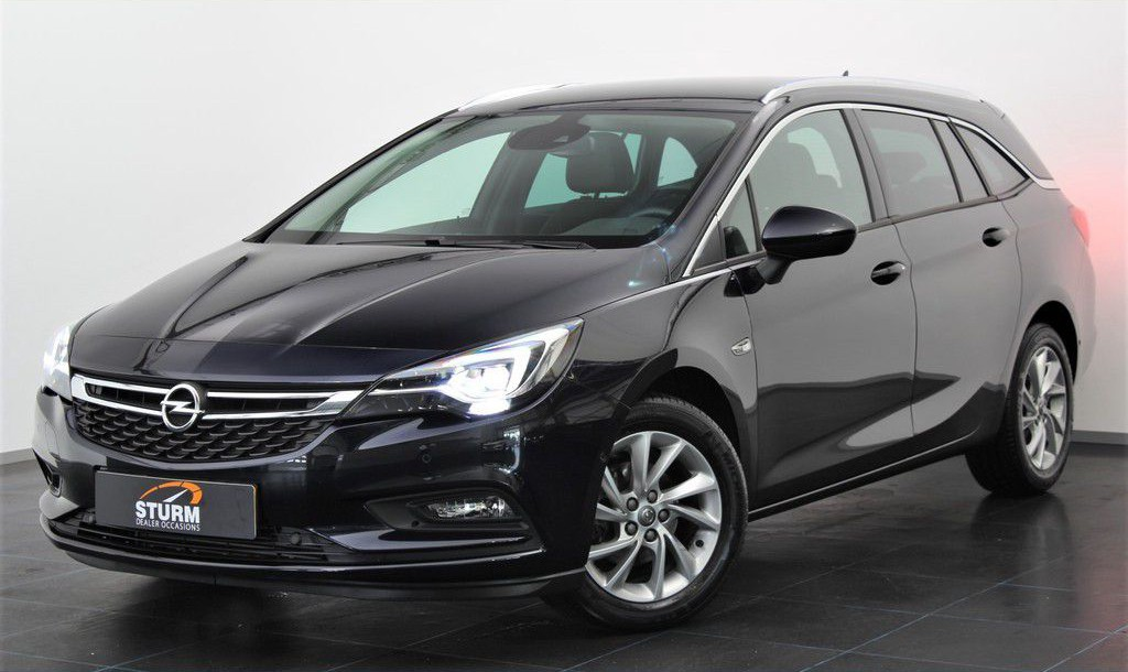 Opel Astra Sports Tourer 1.4 Innovation + | Navigatie | Camera | LED Verlichting | ½ Leder | DAB | Park. Sensoren | Park. Assist | Comfortstoelen | Keyless Entry | Elek. Kofferklep | Rijklaarprijs!