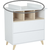 Quax Barrier Commode Loft - White