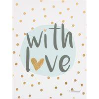 Childhome Schilderij 30x40 - With Love