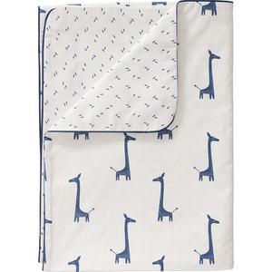 Fresk Dekbedovertrek 140x200 Giraf  - Indigo Blue