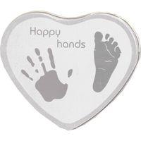 Happy Hands Zilver/Wit Klei Afdruk - Xplorys
