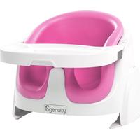 Ingenuity Baby Base 2-in-1  Kinderstoel / Stoelverhoger - Pink Flambe