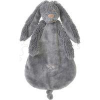 Happy Horse Knuffeldoekje - Deep Grey Rabbit Richie Tuttle