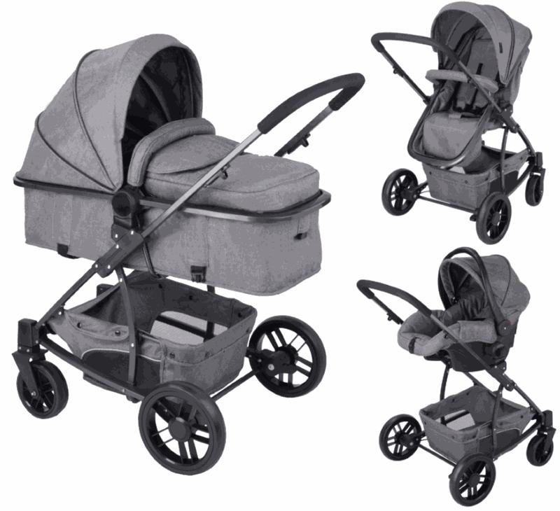 x-adventure explorer kinderwagen incl. autostoel en tas