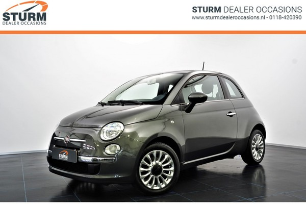 Fiat 500 0.9 TWINAIR TURBO 80pk EASY | Airco | 15'' | Radio-cd/mp3 | Chroom Pack | Rijklaarprijs!