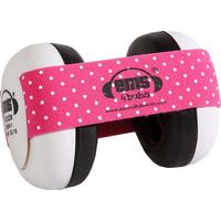 Em's 4 Bubs White Gehoorbeschermers Pink/White