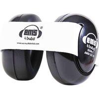 Em's 4 Bubs Black Gehoorbeschermers White