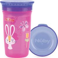 360° Wonder Cup 300 ML Roze/Paars - Nuby