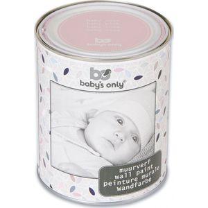 Baby's Only Muurverf 1 Liter-blik Baby Roze