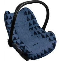 Dooky Seat Cover 0+ Autostoelhoes - Blue Tribal