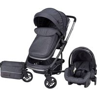 X-Adventure Explorer Kinderwagen incl. Autostoel en Tas - Domino