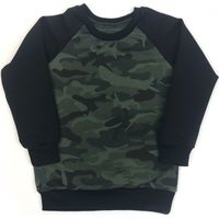 KMDB Sweater Maat 74 Echo - Camo & Black