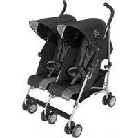 Maclaren Buggy Twin Triumph - Black / Charcoal