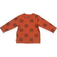 Jollein Shirt Lange Mouw 50/56 - Tiger Rust