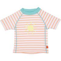 Lässig UV-Shirt Korte Mouw 12 Maanden - Sailor Peach
