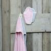 Koeka Badcape & Mini Slab Sparkle Baby Pink