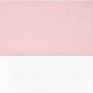 Jollein Laken 120x150cm Mini Dots - Blush Pink