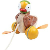 Plan Toys Pull-Along Duck Trekspeelgoed