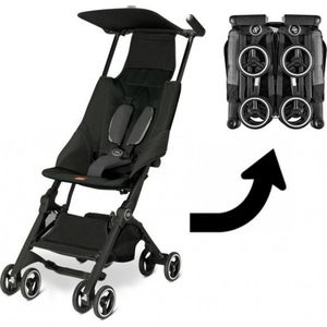 GB Pockit Buggy - Monument Black (UL)