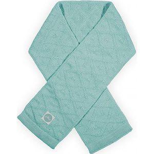 Jollein Sjaal Diamond Knit - Vintage Green