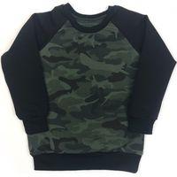 KMDB Sweater Maat 80 Echo - Camo & Black