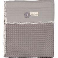 Koeka Wiegdeken Antwerp Taupe/Soft Grey