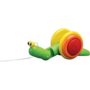 Plan Toys Pull-Along Slak Trekspeelgoed