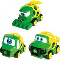 Oball Go Grippers Tough Ol' Trio Vehicle Set John Deere