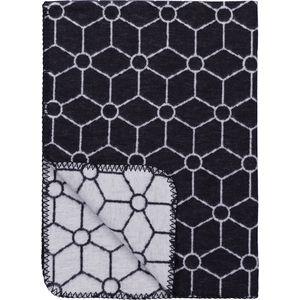 Wiegdeken Honeycomb Jeans 75x100cm - Meyco