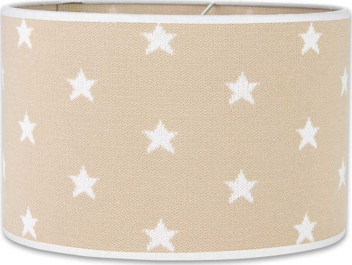 Baby's Only Lampenkap 30cm Ster Beige