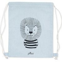 Jollein Rugtasje Wild Animals - Soft Blue