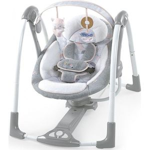 Bright Starts Ingenuity Boutique Portable Swing - Arabella Pink