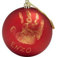 Baby Art Kerstbal My Christmas Fairy - Rood
