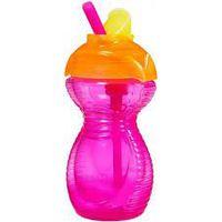 Munchkin Click Lock Flip Straw Cup (296ml) - Roze