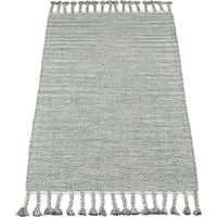 Kidsdepot Vloerkleed - Fringes Seagreen