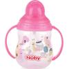 Nuby Flip-It Antilekbeker Met Handvatten En Rietje - Roze