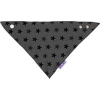 Dooky Dribble Bib Slabje - Grey Star