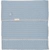 Koeka Wiegdeken Amsterdam - Soft Blue
