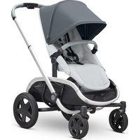 Quinny Hubb Kinderwagen Mono - Graphite On Grey