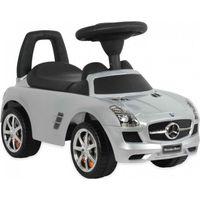 Loopauto Mercedes Zilver - Babymix