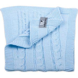 Baby's Only Spuuglap Kabel Uni  Baby Blauw