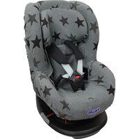 Dooky Seat Cover Groep 1 Autostoelhoes - Grey Stars (groep 1 met hoofdsteun)