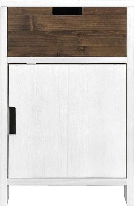 Bopita Ladeblok Basic Wood - White Wash (exclusief lade)
